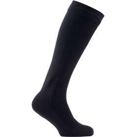 Sealskinz Hiking Mid Knee Socks Black/Anthracite